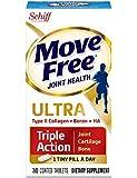 Move Free维骨力超强三重机能联合补充剂  含II 型胶原、透明质酸和Boron   30 片