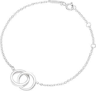 [蒂芙尼] TIFFANY 純銀 1837 互鎖 手鏈 14.5~17cm 35505903