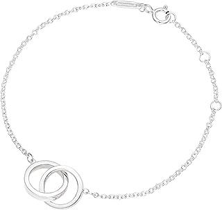 [蒂芙尼] TIFFANY 纯银 1837 互锁 手链 14.5~17cm 35505903