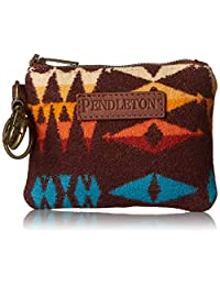 Pendleton 女式 ID 袋钥匙圈