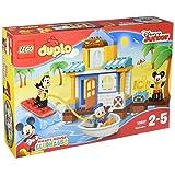 LEGO 乐高 DUPLO系列 米奇和朋友们的海滩别墅 10827 2-5岁 积木玩具 婴幼