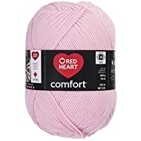 Coats Yarn Red Heart Comfort Yarn, Light Pink