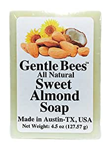 Gentle Bees Sweet Almond Soap