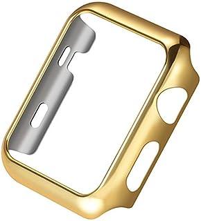 兼容 Apple Watch 保护壳 系列 4 超薄 PC 镀层 保护 缓冲 iWatch 保护壳 保护套 40mm 44mm