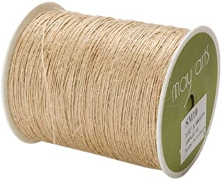May Arts Ribbon, Natural Burlap String