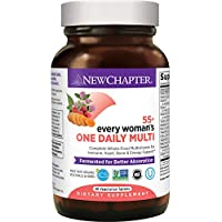 New Chapter 50+ 女士多种维生素 - 每个女人每天所需的营养物质,全食物+虾青素+维生素D3 + 维生素B+配料 - 48 克拉