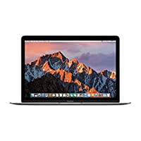 【2017全新一代Mac Book】Apple MacBook 12英寸 笔记本电脑 配备Retina 显示屏 深空灰色(Core M3处理器/8GB内存/256GB固态硬盘 Intel HD Graphics 615 图形处理器 MNYF2CH/A)苹果官方授权 顺丰发货