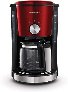 Morphy Richards 摩飞 Evoke 162522 过滤咖啡机,红色