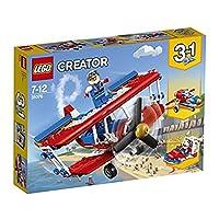 【NEW 上新 1月新品】 LEGO 乐高 拼插类玩具 Creator 创意百变组 超胆侠特技飞机 31076 7-12岁 积木玩具