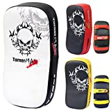 TurnerMAX 弧形泰国垫打孔武术踢拳击盾(单件)