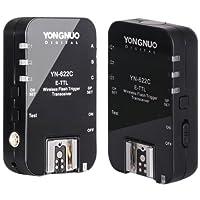 永諾TTL無線觸發引閃器YN-622C 支持高速同步達1/8000s 收發一體 佳能版 可用大燈