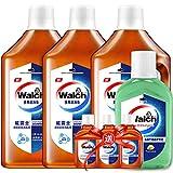 Walch 威露士 衣物家居消毒液1L*3送新加坡版消毒液330ml+消毒液60ml*3(亚马逊自营商品, 由供应商配送)