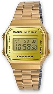 Casio 卡西欧 中性款手表 A168WEGM-9EF