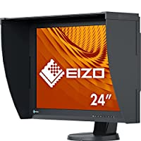 EIZO 艺卓 ColorEdge 显示器 CG247X(61.1厘米/24.1英寸)(DVI-D,HDMI,USB 2.0集线器,DisplayPort,10ms响应时间,分辨率1920 x 1200,宽色域),黑色