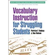 Vocabulary Instruction for Struggling Students (What Works for Special-Needs Learners) (English Edition)