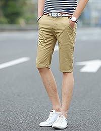 MPSMOVE 思慕夫 2018夏季男装时尚精梳棉面料休闲五分裤男士短裤多色中裤男UK507【402】