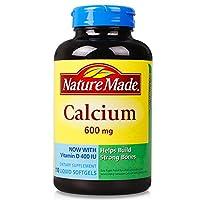 Nature Made 钙加维生素 D 液体软胶囊 600mg*110粒(美国品牌 香港直邮)(包邮包税)