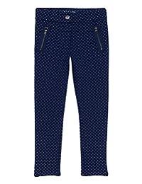 Nautica 女童印花迷你圆点针织裤
