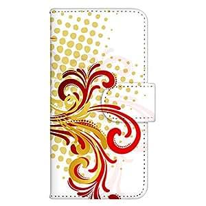 智能手机壳 手册式 对应全部机型 印刷手册 wn-358top 套 手册 图形艺术 UV印刷 壳WN-PR061412-MX AQUOS Xx2 502SH B款