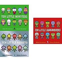 十个小公主 英文原版 Ten Little Princesses 纸板书 数数启蒙 认知识物绘本 女孩绘本 3-6岁 [平装] [Jan 11, 2018] Mike Brownlow、 Simon Rickerty [平装] Mike Brownlow、 Simon Rickerty
