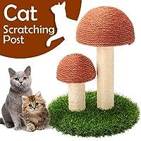 GiftParty 猫抓柱 - 38.1 x 30.5 厘米耐用剑麻猫猫家具玩具 适合猫咪