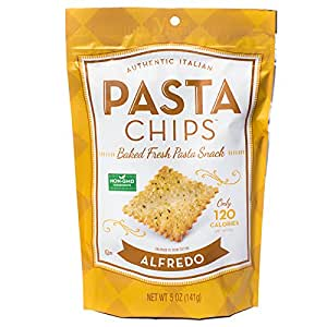 Pasta Chips, Alfredo饼干, 5盎司(141.5克)(12件)