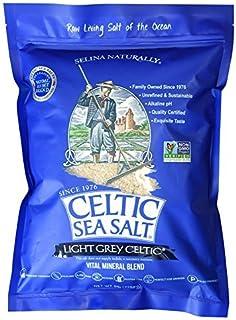 Celtic Sea Salt 海盐 5磅 可重复密封袋 - 无添加,味美,适合烹饪,烘烤等 - 无麸质,犹太洁食,原生态