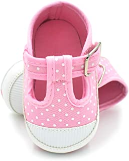 BubbleColor 婴儿帆布鞋新生儿女童男孩时尚水牛防滑软底运动鞋婴儿学步鞋跑步网球婴儿鞋