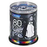 三菱化学媒体 Verbatim 音乐用 CD-R MUR80FP100SV2 (48倍速/100张)