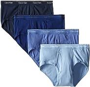 Calvin Klein 男士棉质经典低腰多条装短内裤