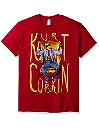 FEA 男士 Kurt Cobain 坐椅照片男士 T 恤