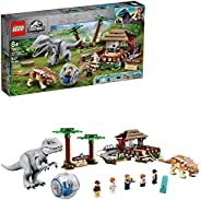 LEGO Jurassic World InDominus rex vs. Ankylosaurus 75941 兒童超棒恐龍搭建玩具,侏羅紀世界人物公仔,帶來數小時的創意樂趣,新款 202020(537 件)