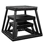 高压防水台盒套装 - 15.24 cm,30.48 cm,45.72 cm 黑色