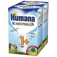 Humana 儿童奶粉(适合1岁以上宝宝),2盒装(2 x 550 克)