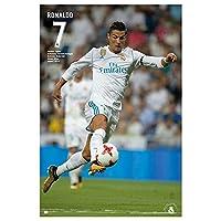 Grupo Erik editores gpe5183-2017/2018 海报,印有 Real Madrid Ronaldo,61 x 91.5 cm