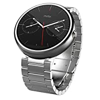 Motorola Moto 360- 轻金属,23毫米智能手表