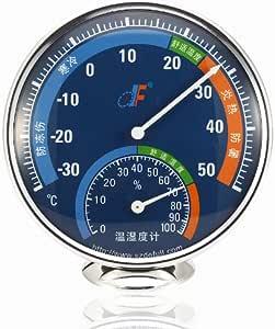 德福温湿度计TH101B-美国进口湿度计表芯.德国进口温度计表芯蓝色