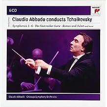进口CD:柴可夫斯基作品 (6CD)(典范大师套装系列28)/阿巴多 Claudio Abbado conducts Tchaikovsky(6CD)88697836722