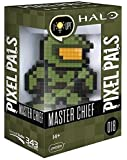 PDP Master Chief Pixel Pals Halo,绿色/黑色,8.8 x 11.2 x 15.9 厘米