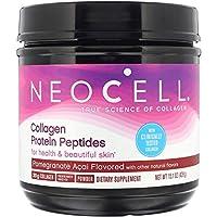 NeoCell 胶原蛋白肽粉,石榴阿萨伊,15.1盎司/442克(包装可能有所不同)