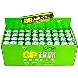 GP超霸 无汞环保碳性5号电池40粒/盒 15G-BJ4(绿色)