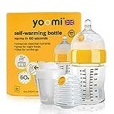 Yoomi 自动加热婴儿奶瓶,带双加热器,240毫升