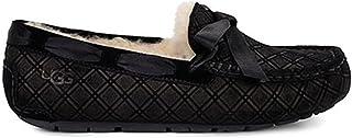 UGG 女士 Dakota 双钻石拖鞋 黑色 5 B(M) US