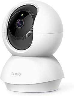 TP-Link Tapo C200 WiFi 攝像頭,1080P,夜視,雙向音頻,室內帶 SD 插槽,存儲卡容量高達 128 GB