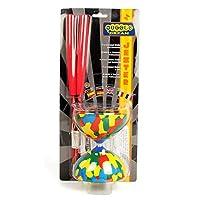 Juggle Dream Jester 空竹套装带*玻璃手棒 - 礼品包装 红色棒
