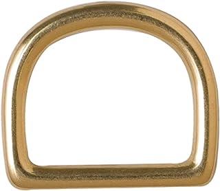 俄亥俄旅行包 D 形环铸造实心黄铜 - 黄铜饰面 (1.9cm )