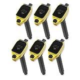 ACCEL 140648-6 超线圈套装线圈式黄色 6 件装 超线圈套装