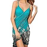 Simplicity 女式细肩带露背海滩连衣裙/比基尼包裹,露背