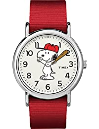 TIMEX 中性款 WEEKENDER 模拟石英手表