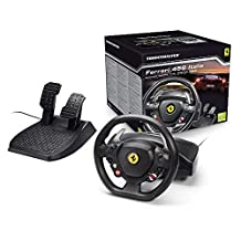 thrustmaster Racing wheel 皮革 Edition ( Xbox One / PC DVD )